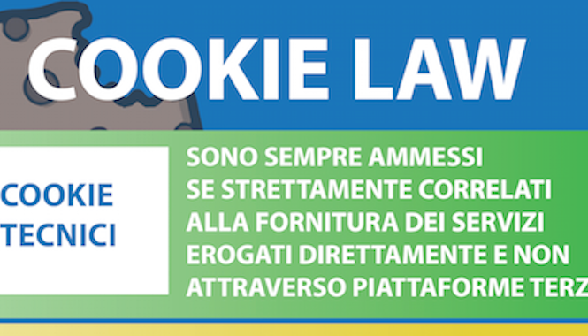 Cookie Law: una infografica con checklist per non sbagliare